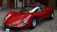 Ganador de la Copa d'Oro en Villa d'Este, Alfa Romeo 33/2