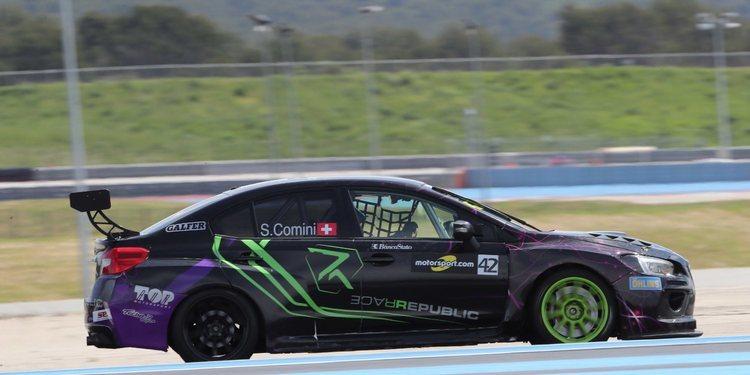 Stefano Comini ya tiene su nuevo coche para seguir compitiendo