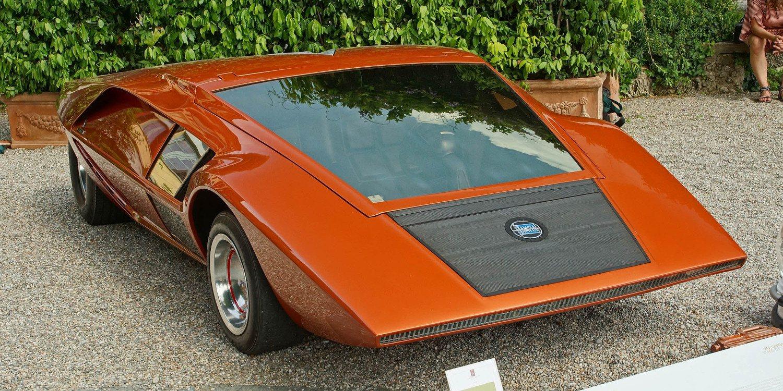 Lancia Stratos HF Zero 1970, el inicio de la era exitosa de la marca
