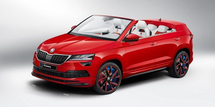 El Skoda Karoq Sunroq Descapotable