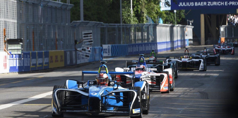 Fórmula E: Eprix de Zurich, la carrera