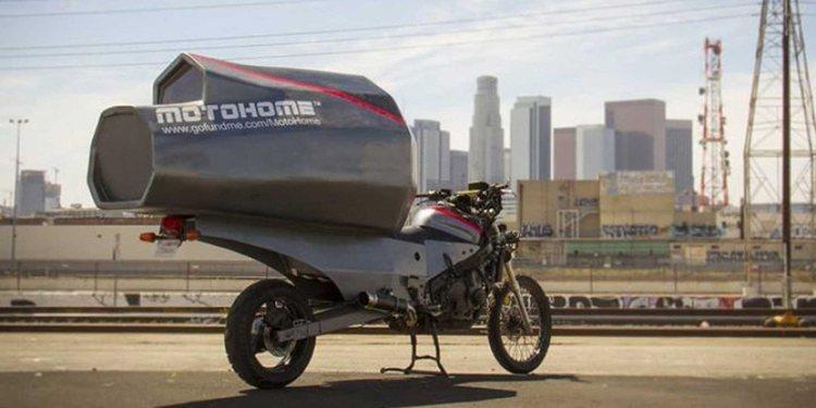 Moto Home, la nueva forma de acampar