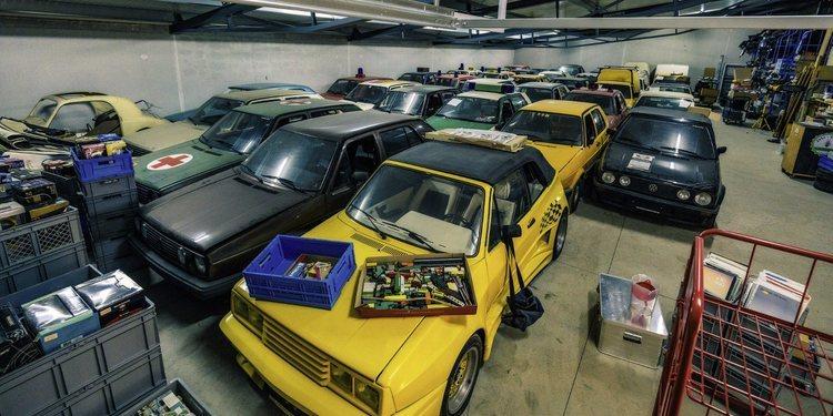Esta es la colección de Volkswagen Golf más grande del planeta