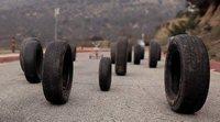 Qué hacer cuando un neumático se revienta en movimiento