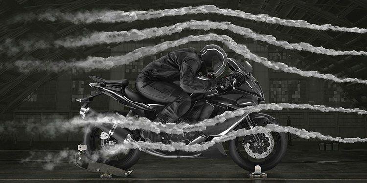 Ráfagas de viento, riesgo latente al conducir motocicletas