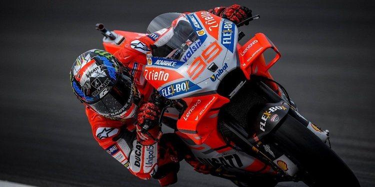 "Jorge Lorenzo: ""Mi primera pole position con Ducati es realmente especial"""