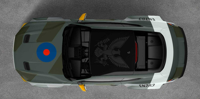 Impresiónate con el Mustang GT Eagle Squadron
