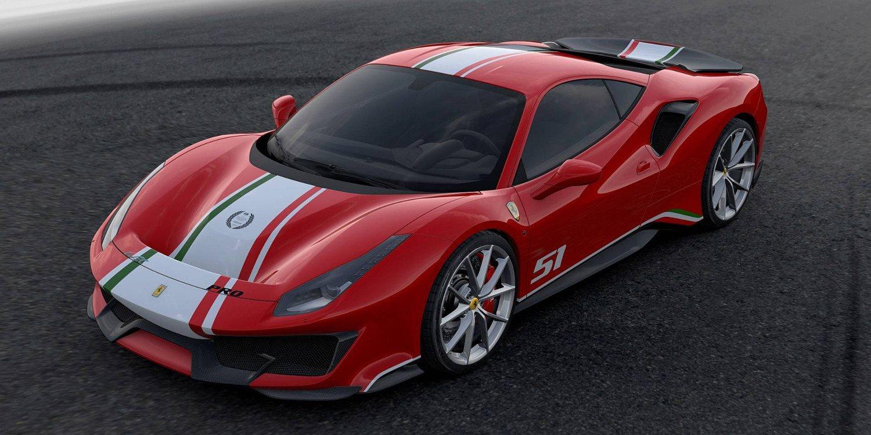 Ferrari 488 Pista Piloti Ferrari 2018