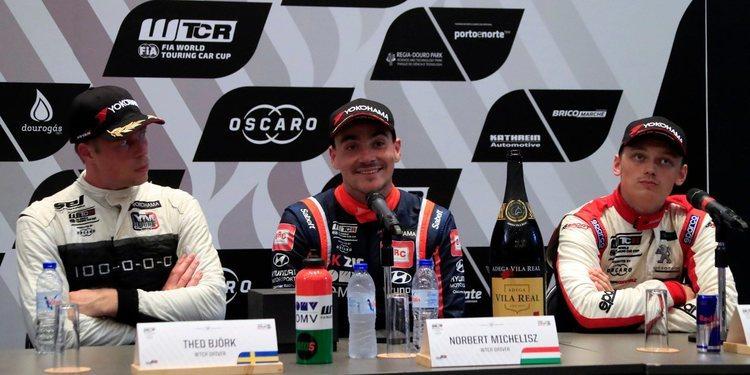 """Norbert Michelisz: """"Estoy feliz y orgulloso por el resultado"""""""