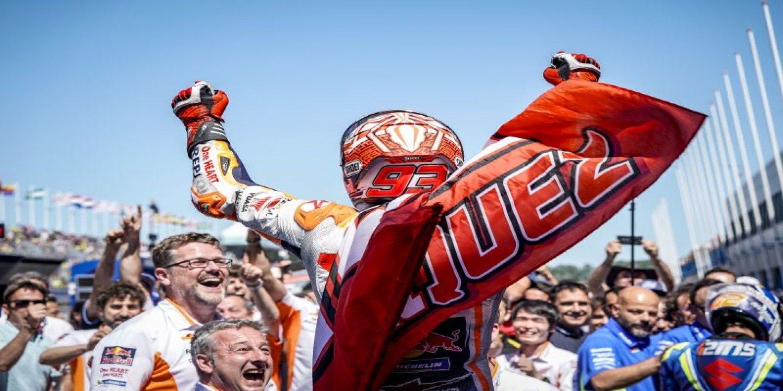 """Márquez: """"En las últimas tres vueltas di todo, sin importar el campeonato"""""""