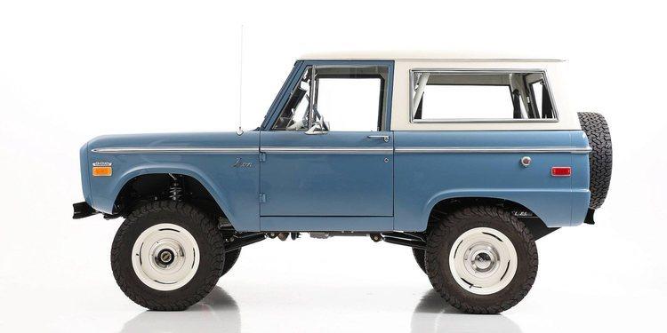 La historia de la Ford Bronco 1966 restaurada por ICON 4X4