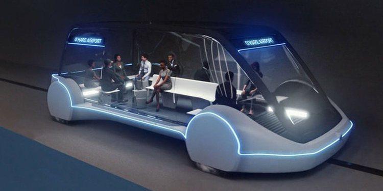 Elon Musk construirá un vehículo de alta velocidad para el Aeropuerto de Chicago