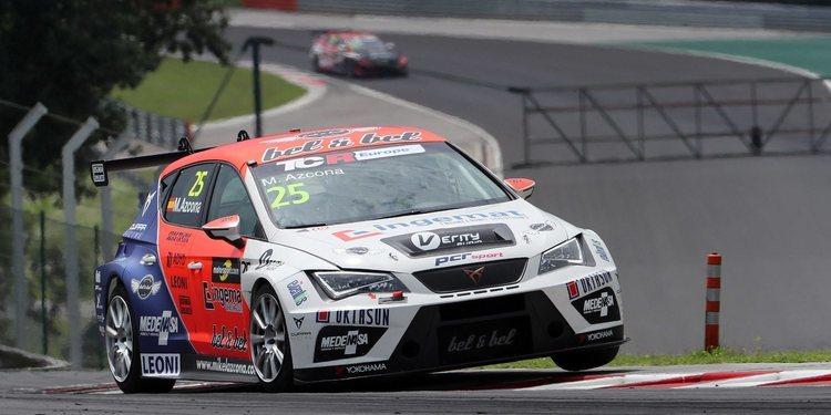 Mikel Azcona logra la pole en el Hungaroring