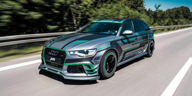 ABT nos presentó un potente Audi ABT RS6-E
