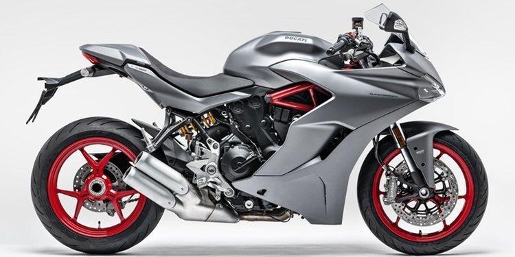 Ducati sacó a la venta la SuperSport en gris plomo