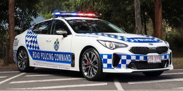 El nuevo Kia Stinger al servicio de la Ley
