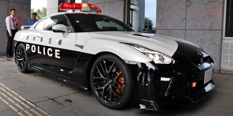 Nueva patrulla Nissan GT-R de Japón