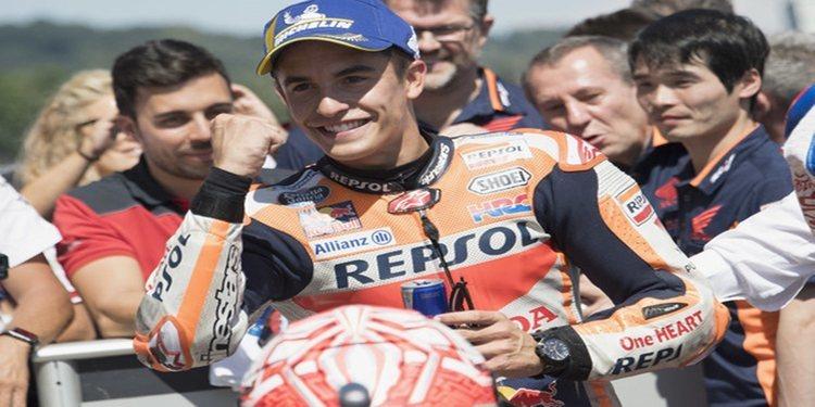 Marc Márquez, el 'poleman' de récord en el Gran Premio de Alemania