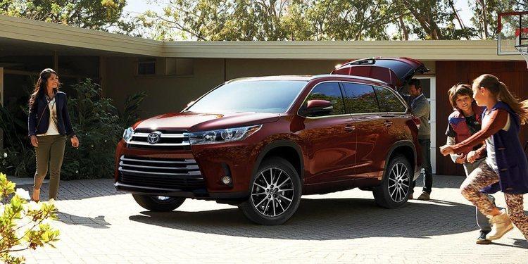 Toyota Highlander 2018, fuerte y elegante