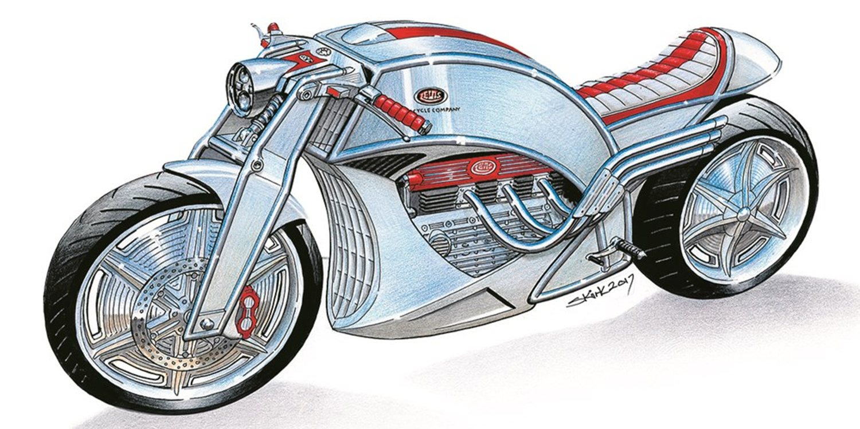 Nueva Levis V6 Cafe Racer