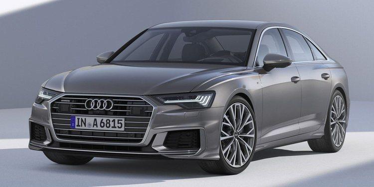 Audi A6 Saloon 2018, un auto elegante