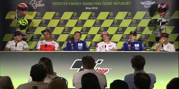 Rueda de prensa del GP de la República Checa