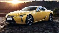 Enamórate con el nuevo Lexus LC 500h Yellow Edition