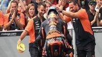 Miguel Oliveira gana en Brno al empeño de Luca Marini
