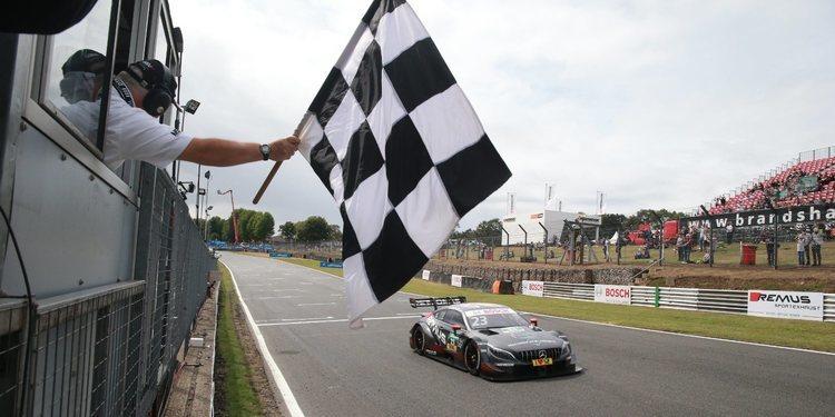 Dani Juncadella logra su primera victoria en el DTM