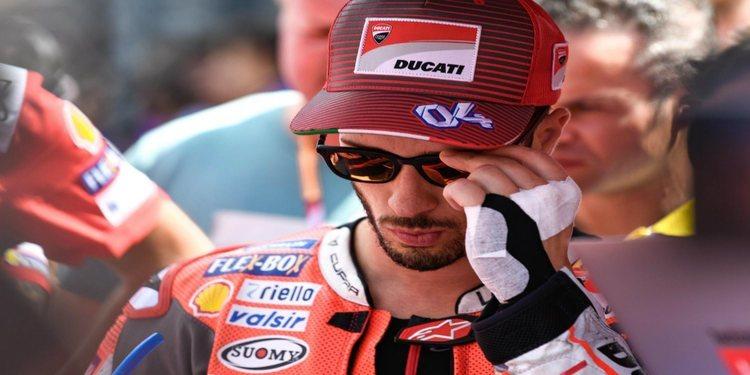 """Andrea Dovizioso: """"Tuve que rendirme cuando faltaban diez vueltas"""""""
