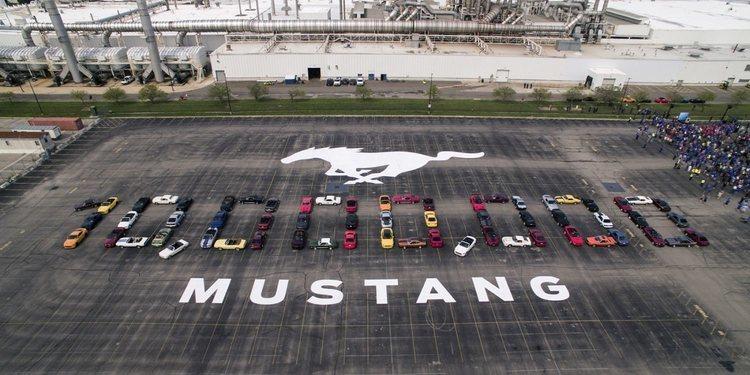 El Ford Mustang alcanza las 10 millones de unidades producidas