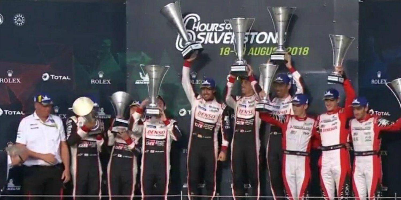Toyota desclasificado de las 6 Horas de Silverstone
