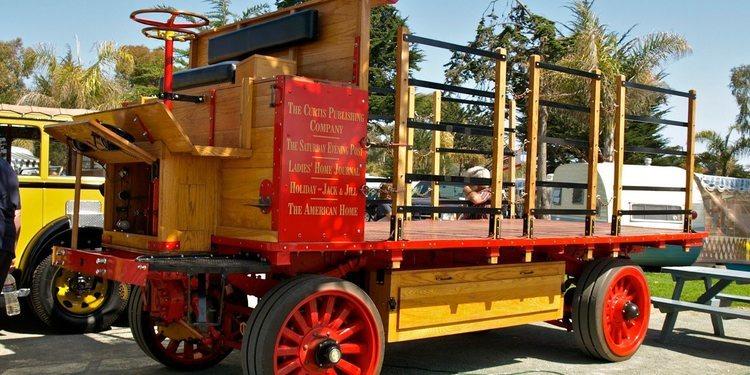 ¿Sabías que existen dos camiones eléctricos del año 1912, y que aun funcionan?