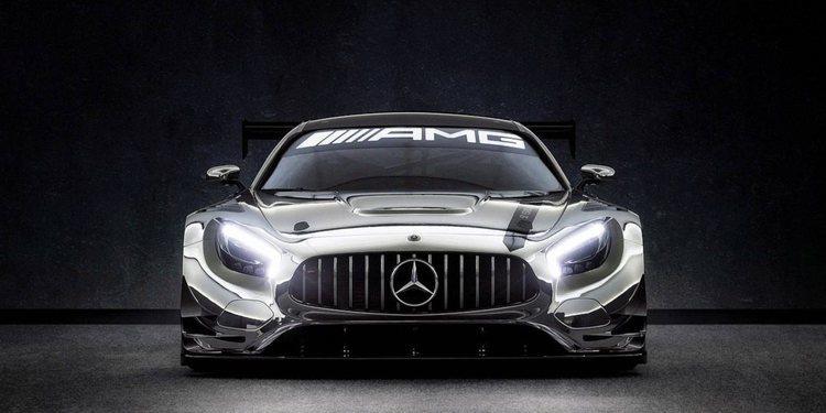 Será subastado un súper deportivo Mercedes-AMG GT3