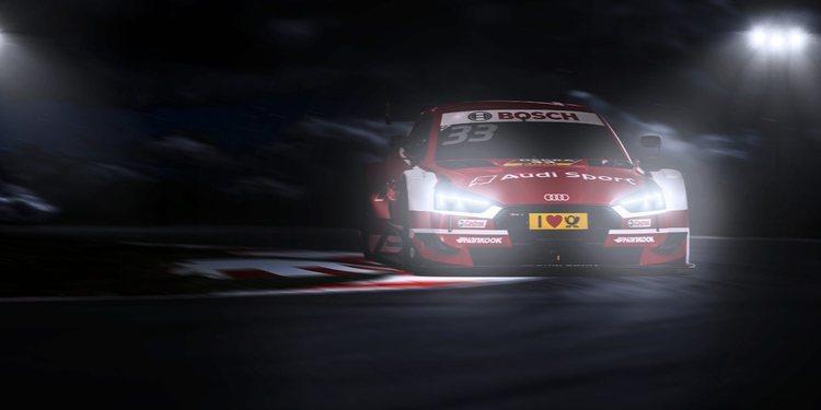 El Audi RS 5 DTM listo para competir en el desconocido Misano