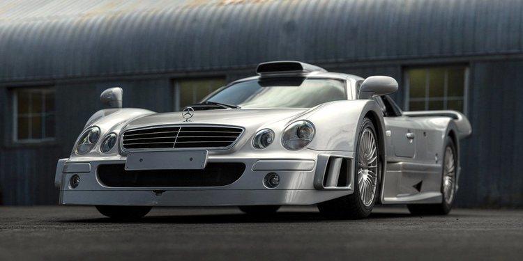 A Subasta este Mercedes-Benz AMG CLK GTR 1998