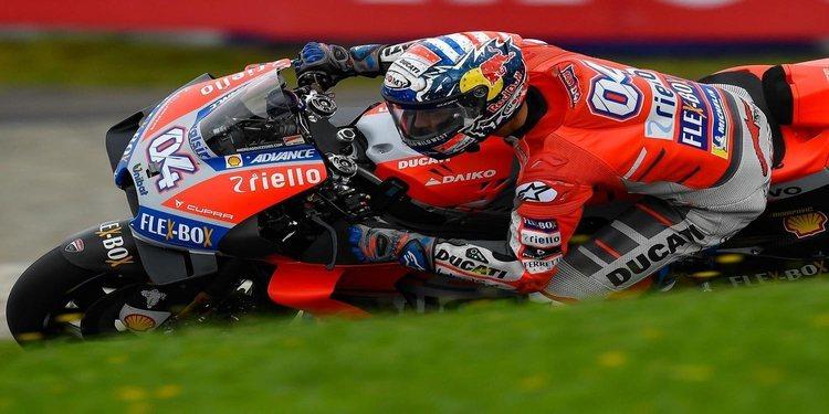 Andrea Dovizioso arranca mandando en Silverstone