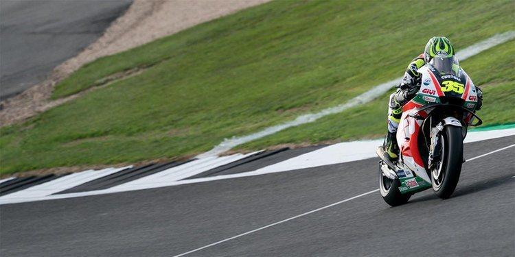"""Cal Crutchlow: """"Quiero que la carrera sea en seco porque tengo ritmo para ganar"""""""