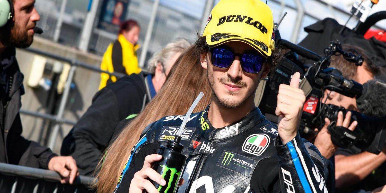 Bagnaia consigue una reñida pole en Silverstone