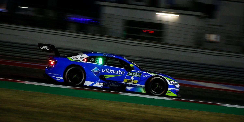 Robin Frijns se sube al podio por primera vez en el DTM