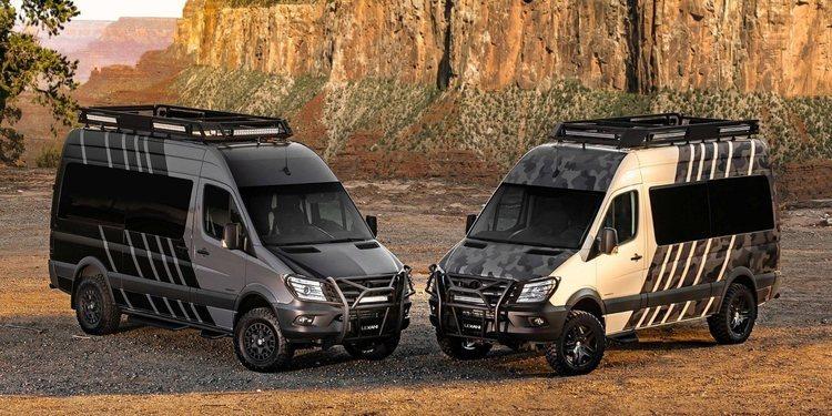 La furgoneta todoterreno lujosa Lexani LM-EXTV