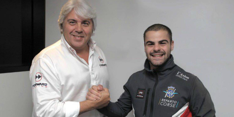 Romano Fenati se une al Forward Racing y MV Agusta en 2019