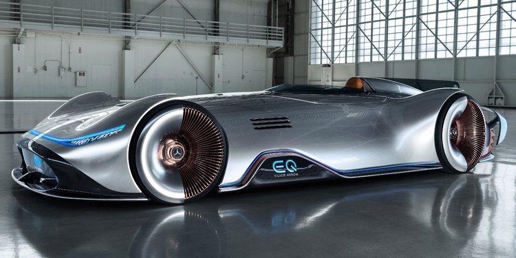 Conoce al esplendido Mercedes-Benz EQ Silver Arrow Concept