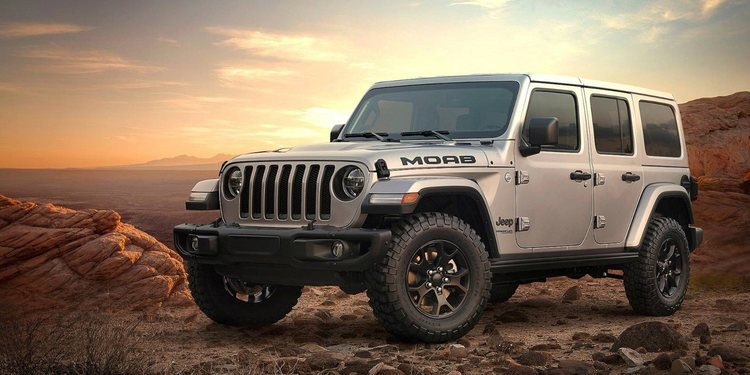 Presentado el Jeep Wrangler Moab Edition 2019