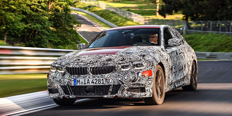 Nuevo BMW serie 3 berlina: bautismo en el legendario Nürburgring Nordschleife