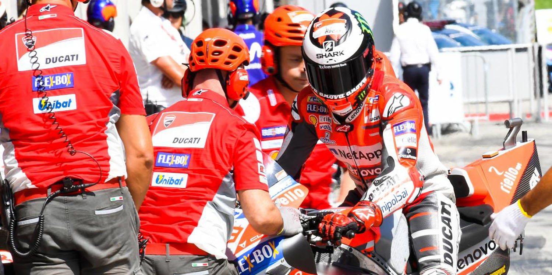 Cuatro de las principales marcas de MotoGP realizaron un test en Aragón