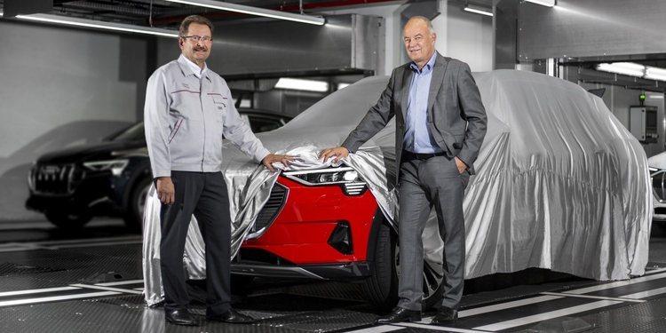 Comienza la producción del Audi e-tron