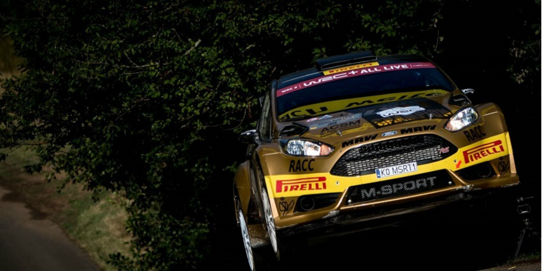 Nil Solans se gana la participación en el Rally de Gales