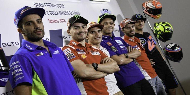 Rueda de prensa del Gran Premio de San Marino 2018