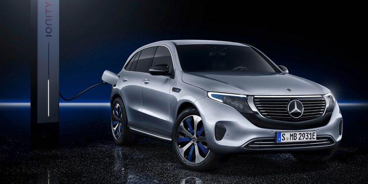 Ya el hermoso Mercedes-Benz EQC 2019 se dejó ver